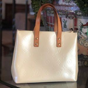 🥰Louis Vuitton Mini Cream  Vernis PM handbag
